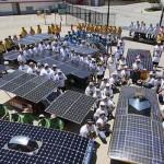 Rodzinne auto zasilane energią słoneczną