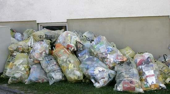 plastikowe śmieci