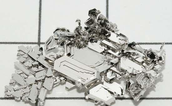 kryształy platyny