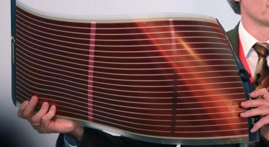 ogniwo barwnikowe z polimerem przewodzącym